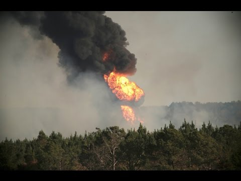 Major gasoline pipeline explosion in Alabama
