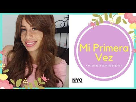 Mi Primera Vez 🔥🔥🔥🔥 NYC Smooth Skin Liquid Foundation