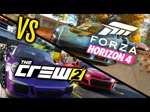 Forza Horizon 4 VS The Crew 2 - WHICH IS BEST?! - YouTube