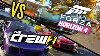Forza Horizon 4 VS The Crew 2 - WHICH IS BEST?!