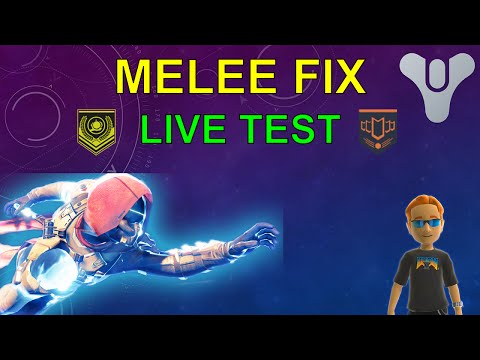 Destiny Melee Fix LIVE TEST New Update Crucible PvP Gameplay
