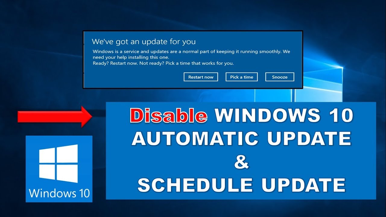 automatic updates in win 10