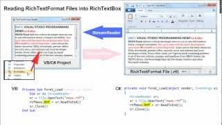 08B RichTextBoxes and RTF Files