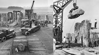 """Стоунхендж ОБМАН 20 века! Кто на самом деле построил Чудо Света? Засекреченные фото """"реконструкции""""!"""