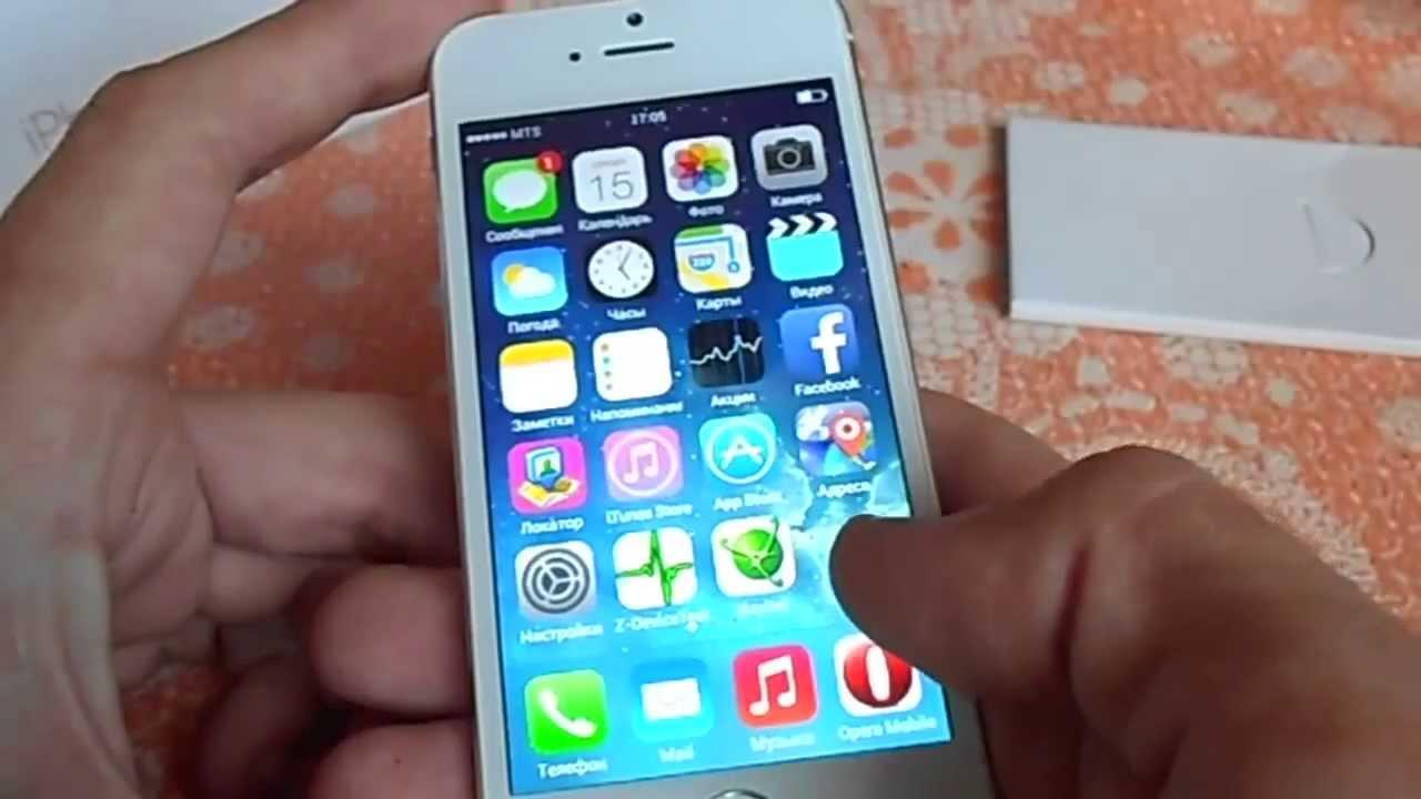 iPhone 5s за 2000 рублей - YouTube