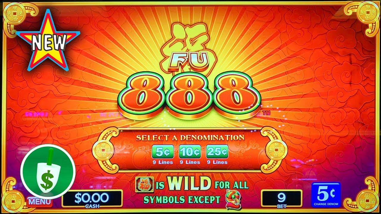 New Fu 888 Slot Machine Youtube