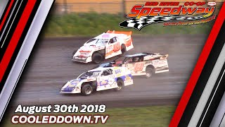 August 30th 2018 RRCS Wissota Modifieds Heats & Feature