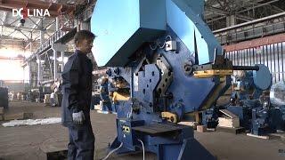 Видео-обзор механических пресс-ножниц. Завод КПО