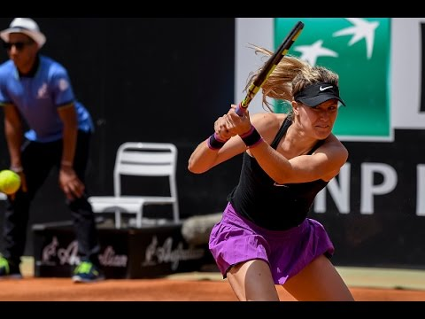 2016 Internazionali BNL d'Italia Second Round   Genie Bouchard vs Angelique Kerber   WTA Highlights