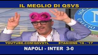 QSVS - I GOL DI NAPOLI - INTER 3-0  TELELOMBARDIA / TOP CALCIO 24