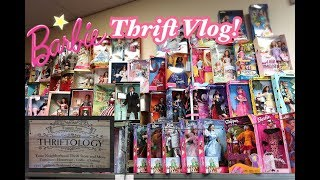 Thrift Vlog! Barbie Dolls at Thriftology Store Closing in FL