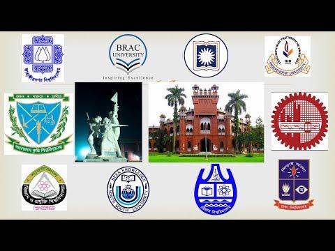 Top 10 University in Bangladesh 2017    World ranking   BAU   BUET   DU   RU......