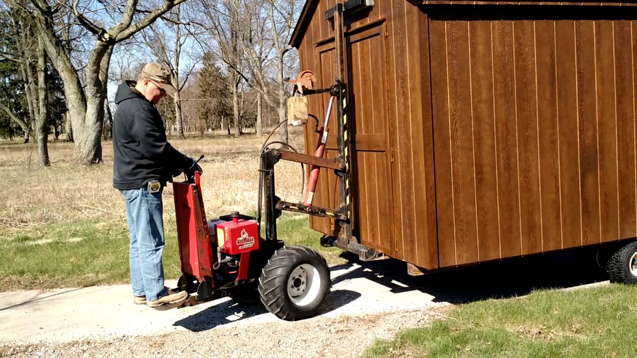 Mule Forklift System Youtube