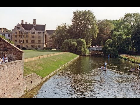 Places to see in ( Cambridge - UK ) The River Cam