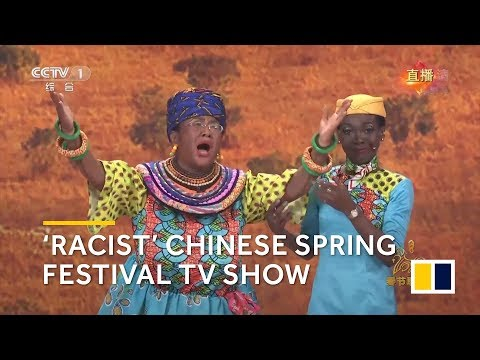 Racism on China's biggest Lunar New Year television show