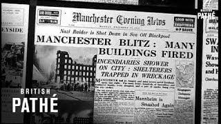 'Battle of Britain' at Madame Tussauds. CU Wax work of Adolf Hitler...
