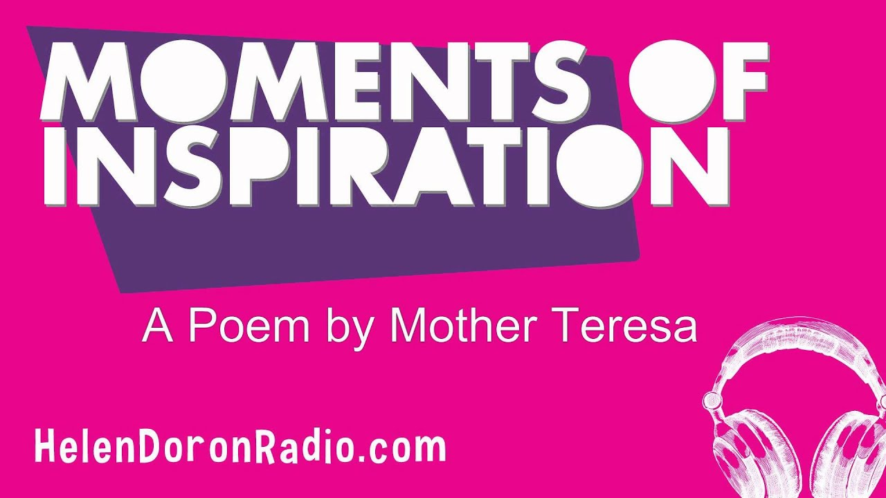 A Poem By Mother Teresa