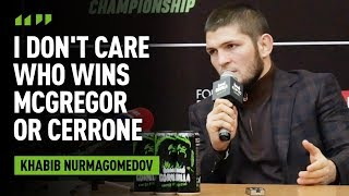 'I decide who I fight': Khabib slaps down Dana White's McGregor rematch claim