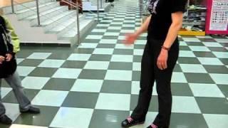 Роликовые кроссовки HEELYS  steprider урок езды(Роликовые кроссовки
