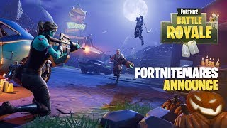 Fortnitemares (Battle Royale) - Announce Trailer