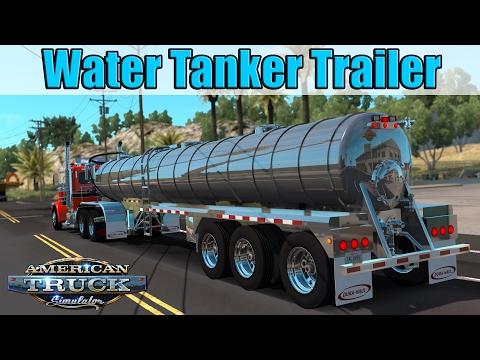 ATS Mods - Water Tanker Trailer