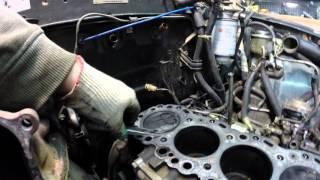 Ремонт головки цилиндров на Авиаремзаводе г Минводы Toyota HiLux Surf 88г