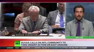 Russia urges intl humanitarian mission for besieged E. Ukraine cities