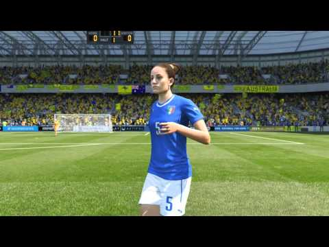 FIFA 16: ITALY WOMEN'S Player Faces (PS4/XBONE) (1080p HD)