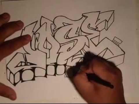 Drawing GraffitiRequestedJOSEby wizard  YouTube