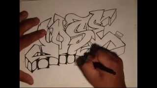 Drawing Graffiti-(Requested)-(JOSE)-by wizard