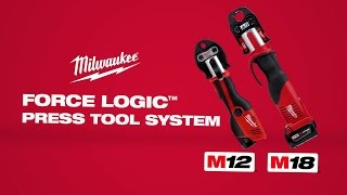 Milwaukee® FORCE LOGIC™ Press Tool System