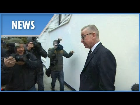 Michael Gove probed by the press this morning