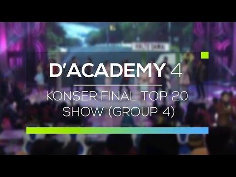Highlight D'Academy 4 - Konser Final Top 20 Show (Group 4)