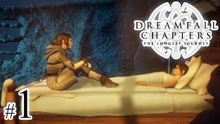 Let's Play: Dreamfall Chapters (na ślepo) odc. 1: Księga 1 - Rozdział 1 - 'Dryf' [1/3]