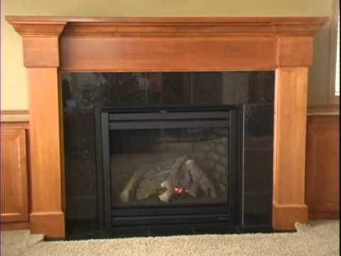 Watch us install a gas fireplace in under 1 minute! Learn more about The Fireplace Guys by visting us at: http://www.thefireplaceguys.com