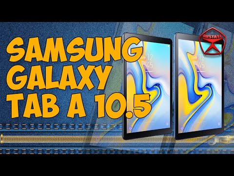 Планшет о котором все говорят - Samsung Galaxy Tab A 10.5 SM-T595 / Арстайл