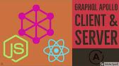 Graphql Client & Server using Apollo