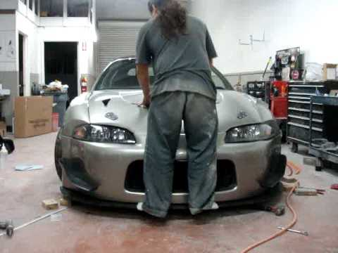 how to build a front splitter
