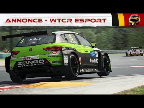 ANNONCE - le WTCR eSport REVIENT en live ! [FR ᴴᴰ]