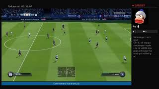 I PLAY FIFA 19 ONLINE MATCH {I speak Swedish}