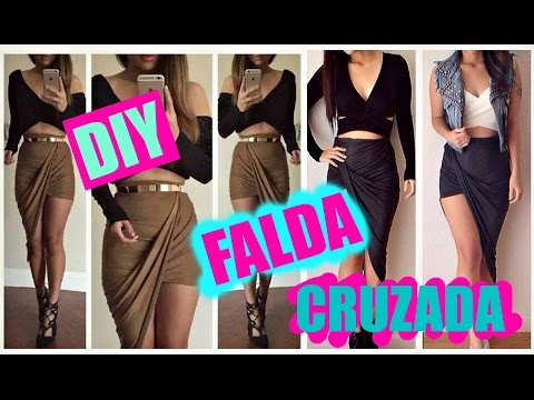 DIY falda cruzada
