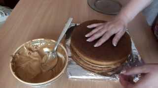 Торт без выпечки за  5 мин быстро вкусно недорого рецепт