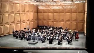 MCHS Symphonic Band - 2-16-2013 - Contre Qui, Rose