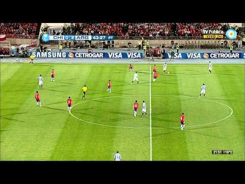 Resumen Chile 1 vs Argentina 2 (Eliminatorias Brasil 2014)