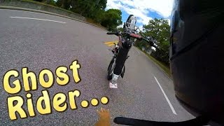 Pit Bike Adventures | Wheelie Crash! Bye Bye Pitty!