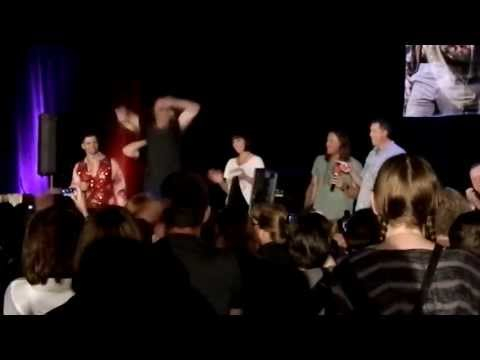 Mark Sheppard being sassy, Julian Richings sings