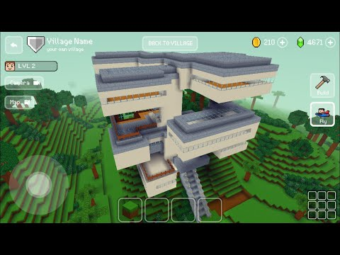 Block Craft 3D : Building Simulator Games For Free Gameplay #488 (iOS & Android) | Super Mansion