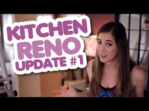 Our Kitchen Reno! (Update #1): And So It Begins!