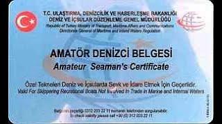 Amatör Denizcilik Belgesi /2019