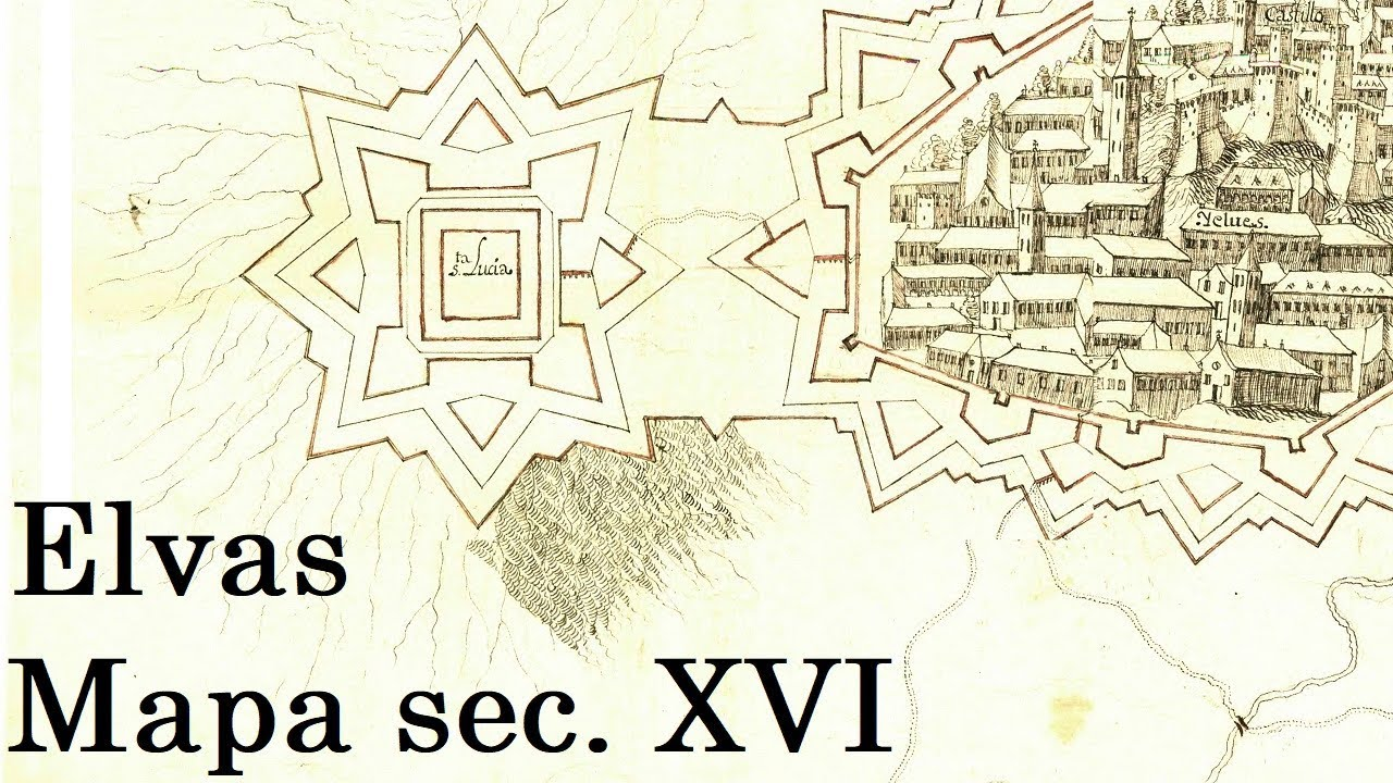 Elvas Mapa Sec Xvi 4k Youtube